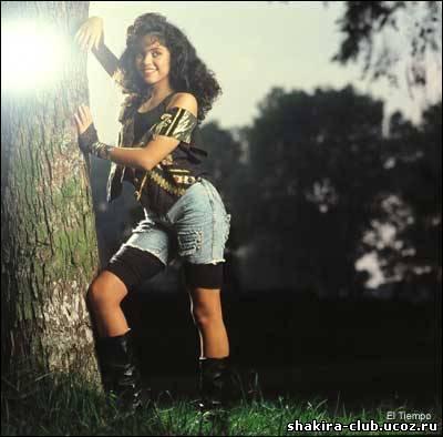 шакира в детстве, первый альбом шакиры
